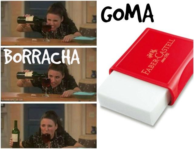 borracha-goma - Compan Traduções