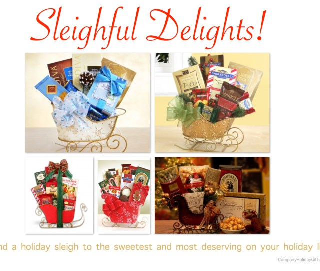 Sleighful Delights Holiday Gifts