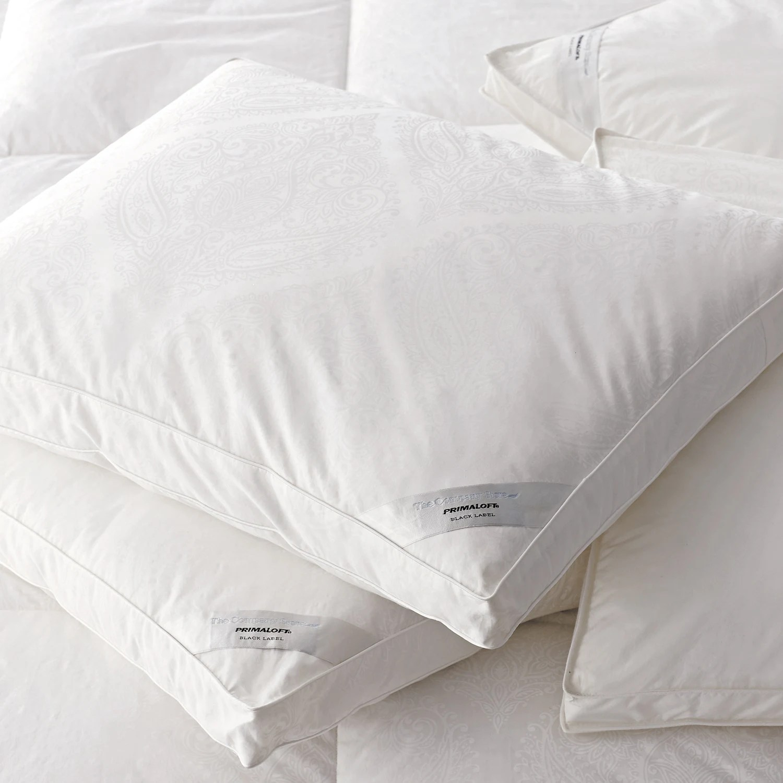 legends hotel primaloft down alternative paisley pillow soft density white