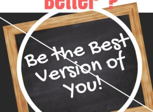 Tired of always trying to be better? This is great Christian encouragement!