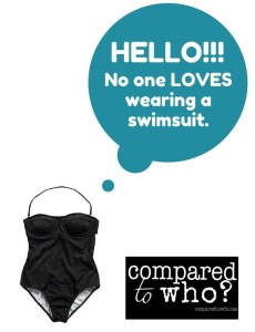 Why no one likes wearing a bathing suit