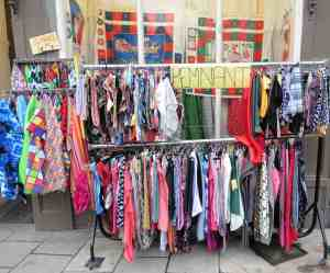 clearance rack clothing remnants compared to who