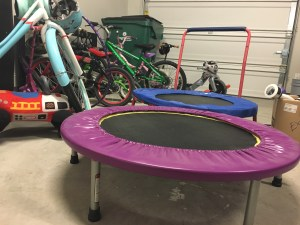 Joy workout trampoline compared to who