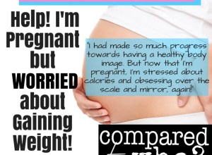 pregnant weight don't want to gain weight body image