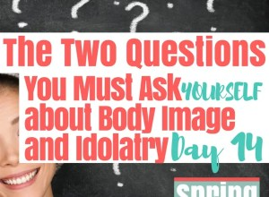 two questions you must ask about idolatry and body image