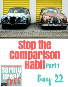 Stop the Comparison Habit