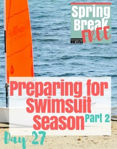 Preparing Heart for Swimsuit Season Part 2 Compared to Who Spring Break Free Series