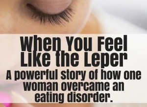 woman overcame eating disorder