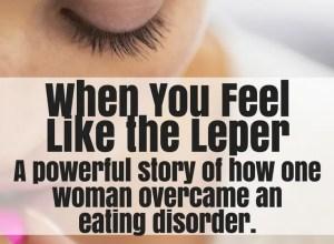 woman overcame eating disorder