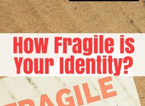 Is your identity fragile?