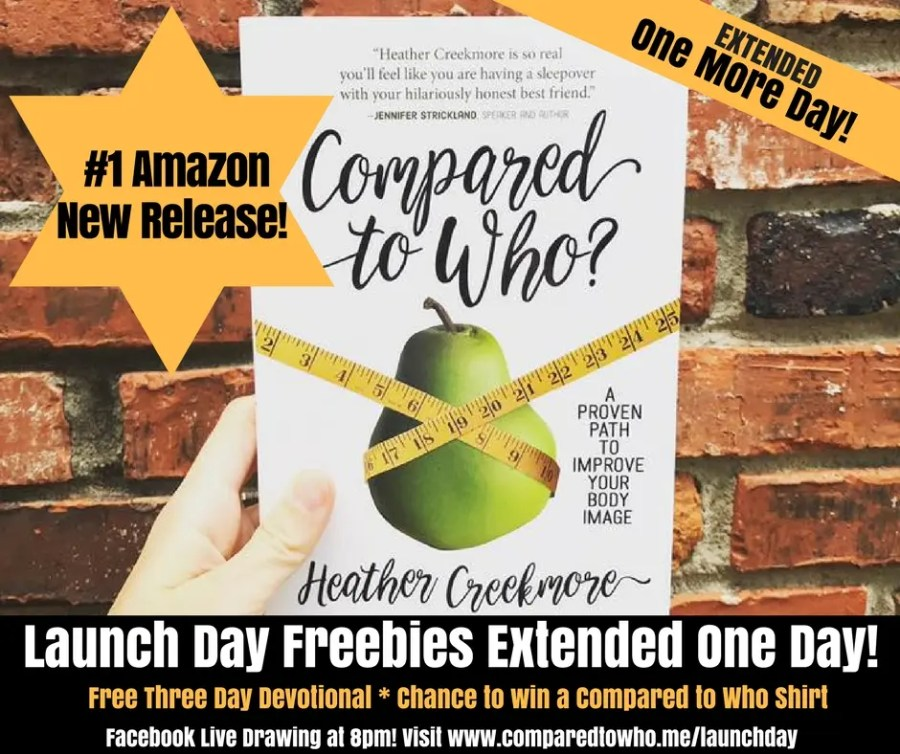 compared to who book launch freebies