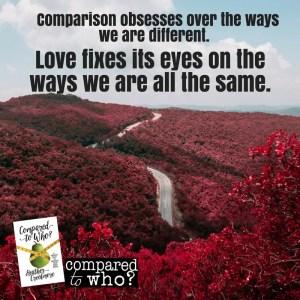 Comparison versus compassion