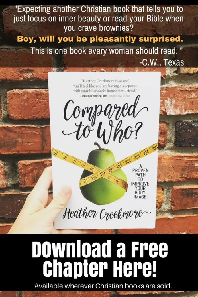 Compared to Who book Christian women body image and comparison struggles