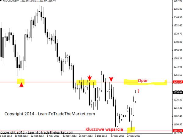 Nial Fuller's Price Action – tygodniowe spojrzenie na rynki 6 - 10 stycznia 2014