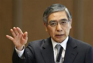 Haruhiko Kuroda - gubernator Bank of Japan. |źródło: www.reuters.com