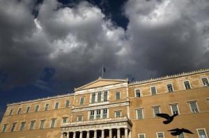 Czarne chmury ponownie zawisły nad greckim parlamentem.