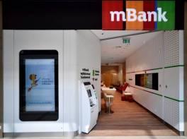 mBank pod lokalnym oporem. Kontynuacja powolnej przeceny