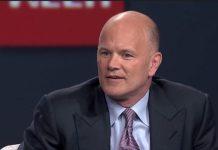 Mike Novogratz CEO firmy kryptowalutowej Galaxy Digital