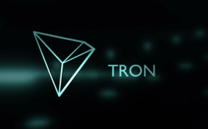 Logo kryptowaluty TRON
