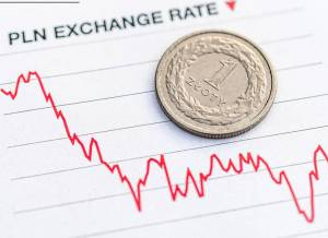 Kurs euro (EUR/PLN) w czerwcu wyniesie 4,53 zł, franka (CHF/PLN) 4,18 zł, prognozuje Kantar TNS