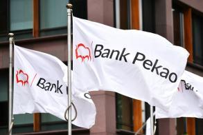 Bank Pekao w mało dynamicznej korekcie