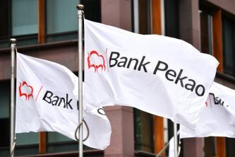 Bank Pekao zmierza po 90 zł. Szykuje się test kilkuletniej linii trendu