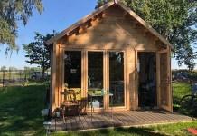 Jakie są zalety drewnianych domków ogrodowych