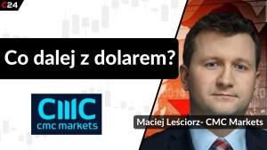 Dolar coraz słabszy! Czy wróci na wzrostowe tory? | Maciej Leściorz, CMC Markets
