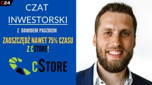 CStore planuje zebrać 3,2 mln zł. Czat inwestorski z prezesem spółki