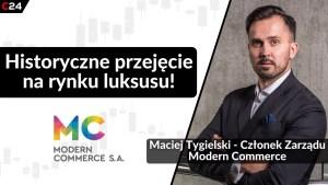 Modern Commerce przejmuje właściciela marki Moliera2.com   Maciej Tygielski