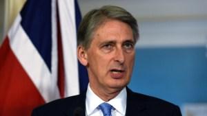 Phillip Hammond, kanclerz UK