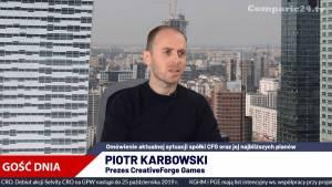 Piotr Karbowski, Prezes Zarządu CFG