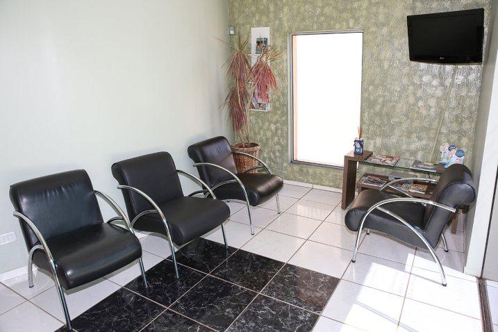Sala de Espera- Clínica em Palmitos