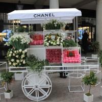 Ação Chanel para o dias das mães em Londres/ Chanel's advertisement for the mother's day in London