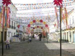 Pelourinho, em Salvador, no São João