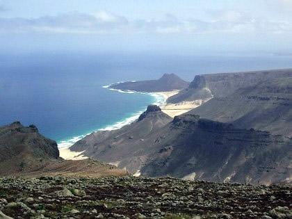 Ilha de São Vicente - Vista desde o Monte Verde