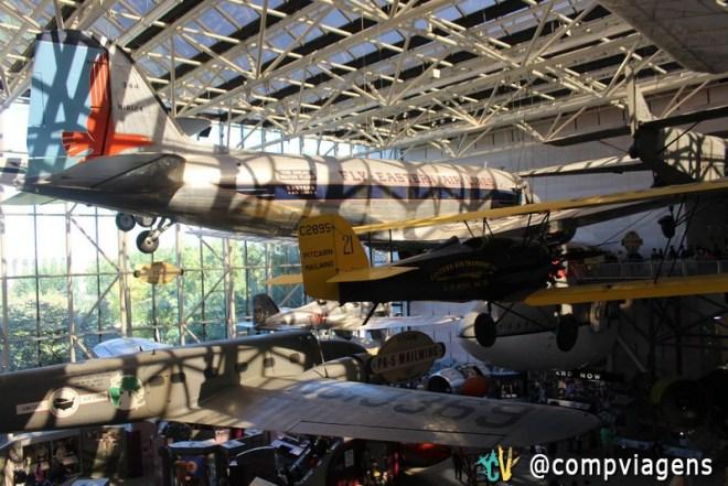 Aeronaves do Museu do Ar e Espaço