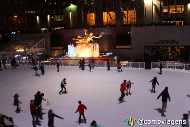 Pista de patinação do Rockfeller Center