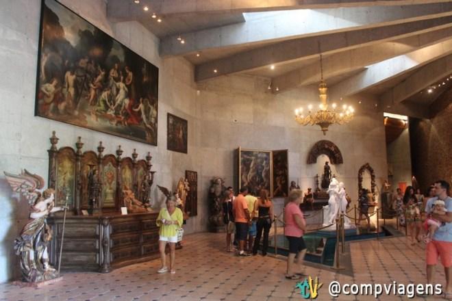 Exposição da pinacoteca
