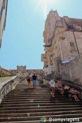 Escadaria barroca