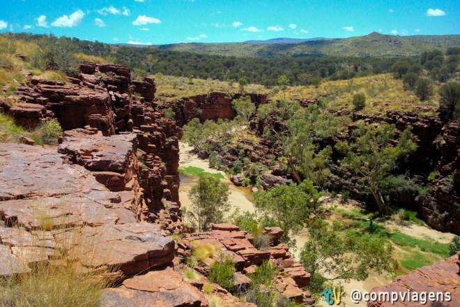 Rim Walk no Trephina Gorge Nature Park