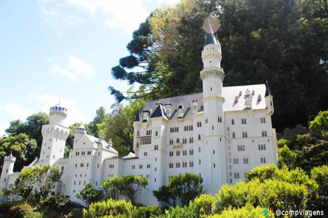 Castelo Neuschwanstein, no Mini Mundo