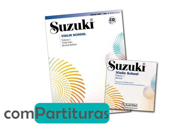Metodo Suzuki para Violín Completo 10 Volúmenes