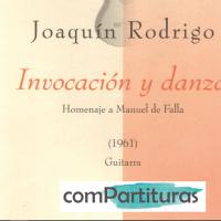 Partitura Invocación y Danza - Joaquín Rodrigo - Guitarra