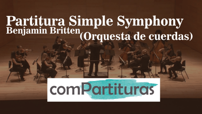 Partitura Simple Symphony