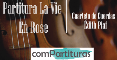 Partitura La Vie En Rose