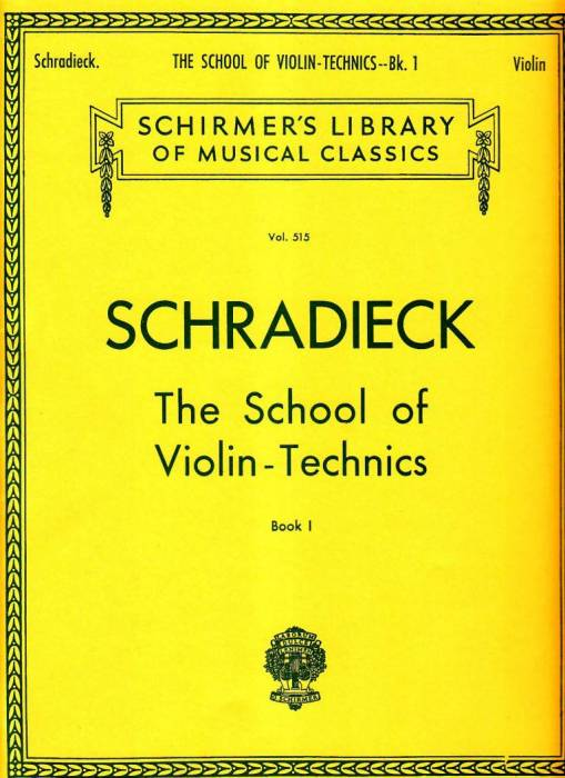Schradieck School of Violin Technique