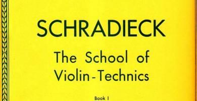 Schradieck School of Violin Technique