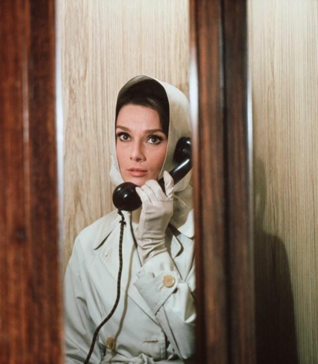 Audrey Hepburn in Sciarada, 1963