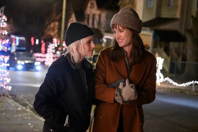 Kristen Stewart e Mackenzie Davis